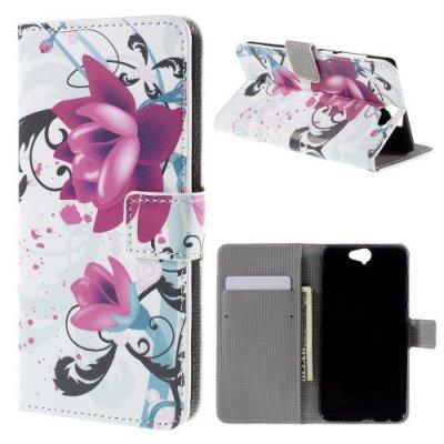 Plånboksfodral till HTC One A9 Lotusblomma