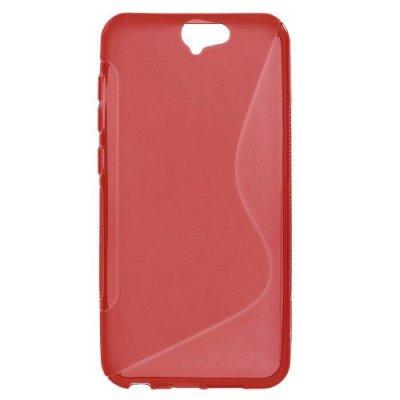 Flexibelt Skal S-Design till HTC One A9 Röd
