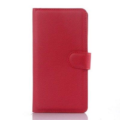 Röd Plånboksfodral till Huawei Honor 7