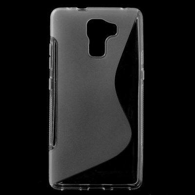 Flexibelt Skal S-Design till Huawei Honor 7 Transparent