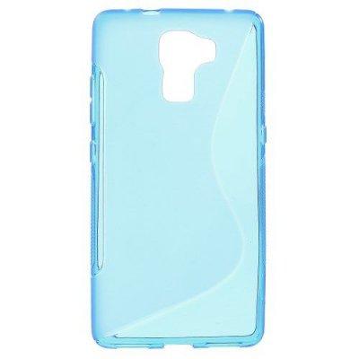 Flexibelt Skal S-Design till Huawei Honor 7 Blå