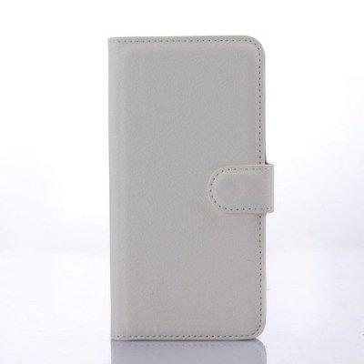 Vit Plånboksfodral till HTC Desire 626