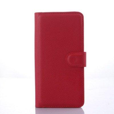 Röd Plånboksfodral till HTC Desire 626