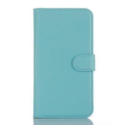 Plånboksfodral till Microsoft Lumia 550 - Blå litchi