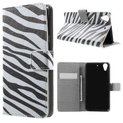 Plånboksfodral till HTC Desire 626 - Motiv Zebra