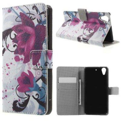 Plånboksfodral till HTC Desire 626 - Motiv Lotusblomma