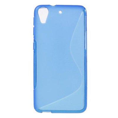 Flexibelt S-Design Skal till HTC Desire 626 Blå