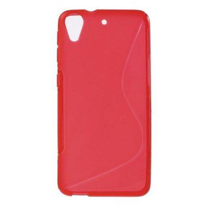 Flexibelt S-Design Skal till HTC Desire 626 Röd