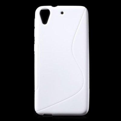 Flexibelt S-Design Skal till HTC Desire 626 Vit