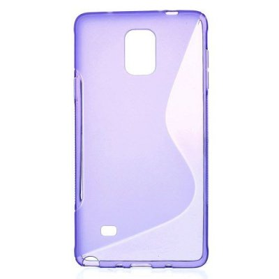 Flexibelt S-Design Skal till Samsung Galaxy Note 4 Lila