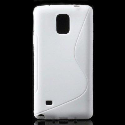 Flexibelt S-Design Skal till Samsung Galaxy Note 4 Vit