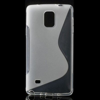 Flexibelt S-Design Skal till Samsung Galaxy Note 4 Transparent