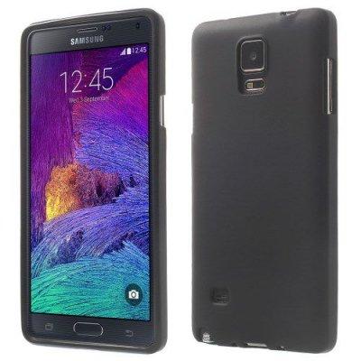 Flexibelt Skal till Samsung Galaxy Note 4 Svart