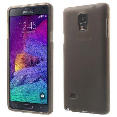 Flexibelt Skal till Samsung Galaxy Note 4 Grå