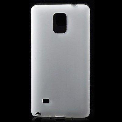 Flexibelt Anti-Slip Skal till Samsung Galaxy Note 4 Vit