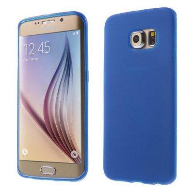 Flexibelt Blå Skal till Samsung Galaxy S6 Edge G925