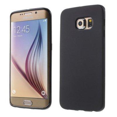 Flexibelt Svart Skal till Samsung Galaxy S6 Edge G925
