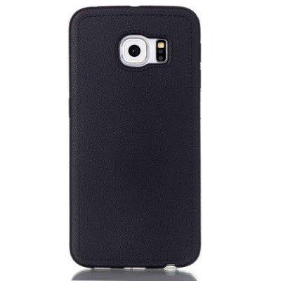 Mjukt Skal till Samsung Galaxy S6 Edge - Svart