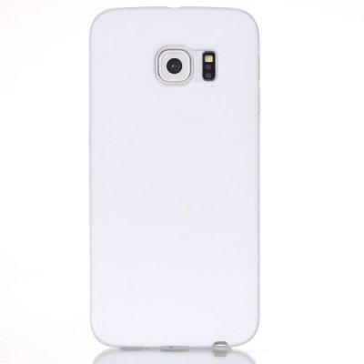 Mjukt Skal till Samsung Galaxy S6 Edge - Vit