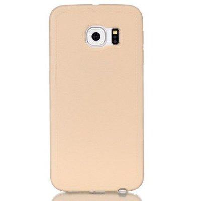 Mjukt Skal till Samsung Galaxy S6 Edge - Beige