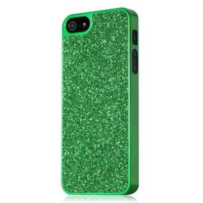 Glitterskal till iPhone 5/5S - Grön