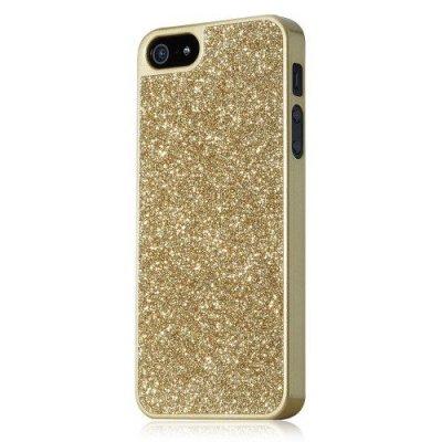Glitterskal till iPhone 5/5S - Guld