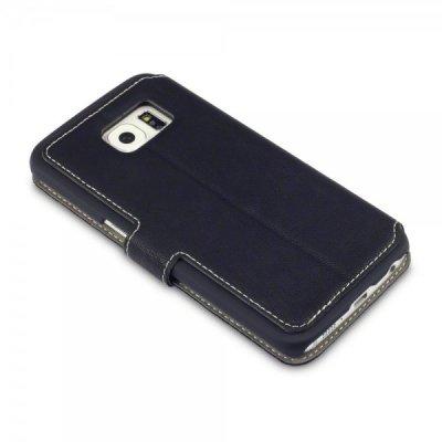 Mobilfodral Slim till Samsung Galaxy S6 Edge - Svart