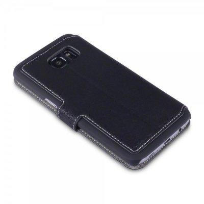 Mobilfodral Slim till Samsung Galaxy S7 Edge - Svart