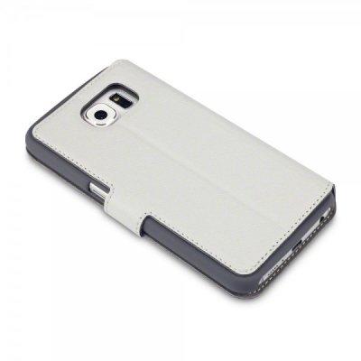Mobilfodral Slim till Samsung Galaxy S6 - Vit