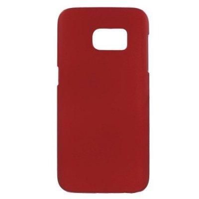 Hårt Skal till Samsung Galaxy S7 - Röd skal med gummikänsla