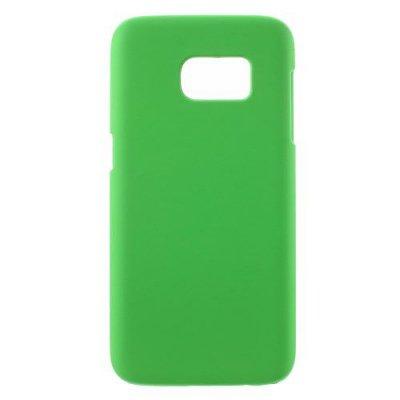 Hårt Skal till Samsung Galaxy S7 - Grön skal med gummikänsla