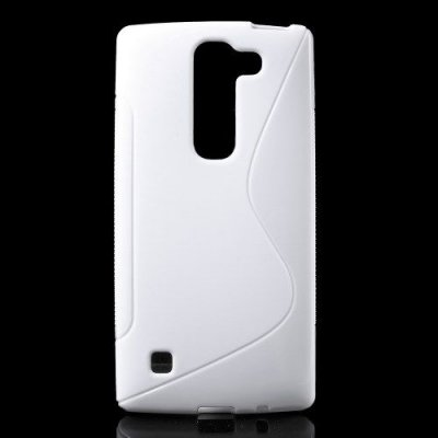 Flexibelt S-Design Skal till LG Spirit - Vit