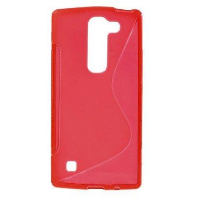 Flexibelt S-Design Skal till LG Spirit - Röd