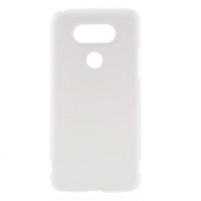 Hårt Skal till LG G5 - Vit skal med gummiyta