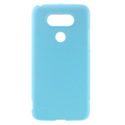 Hårt Skal till LG G5 - Blå skal med gummiyta
