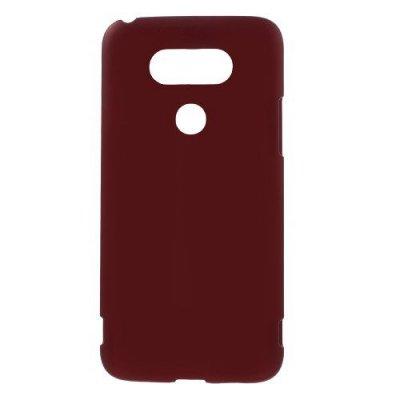 Hårt Skal till LG G5 - Röd skal med gummiyta