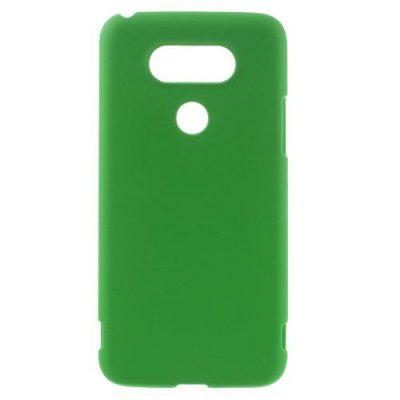 Hårt Skal till LG G5 - Grön skal med gummiyta