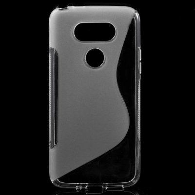 Flexibelt Skal S-Design till LG G5 - Transparent