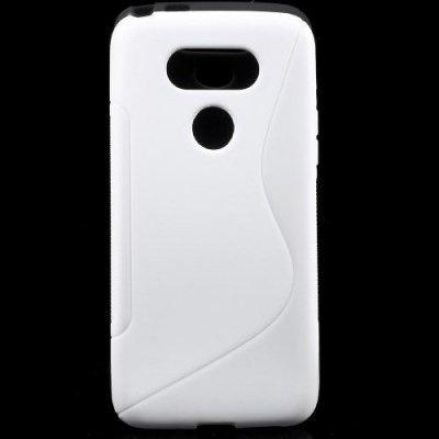 Flexibelt Skal S-Design till LG G5 - Vit