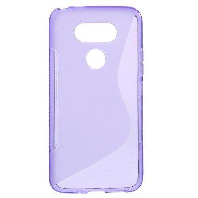 Flexibelt Skal S-Design till LG G5 - Lila