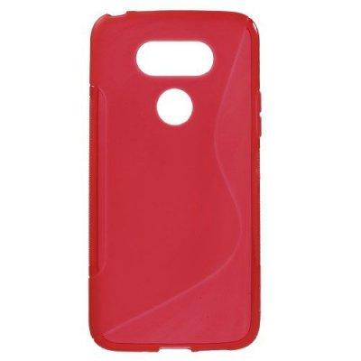 Flexibelt Skal S-Design till LG G5 - Röd