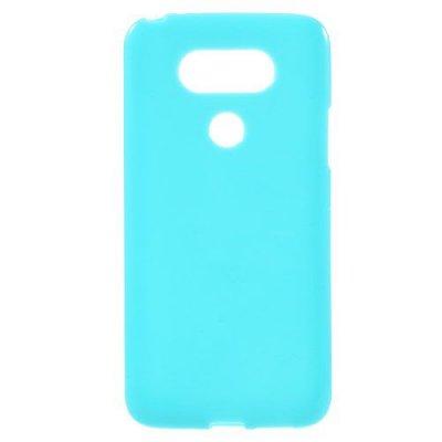 Flexibelt Skal till LG G5 - Blå TPU skal med blank yta