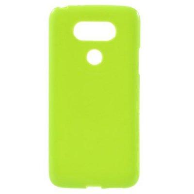 Flexibelt Skal till LG G5 - Grön TPU skal med blank yta