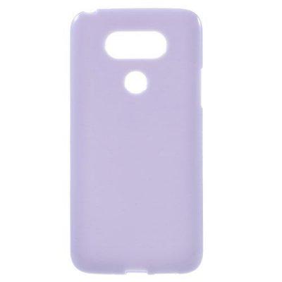 Flexibelt Skal till LG G5 - Lila TPU skal med blank yta