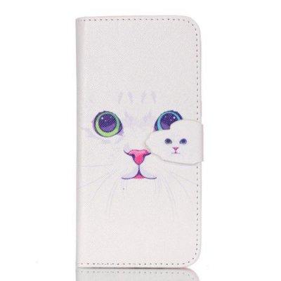 Plånboksfodral till Samsung Galaxy S7 EDGE - Lovely Cat