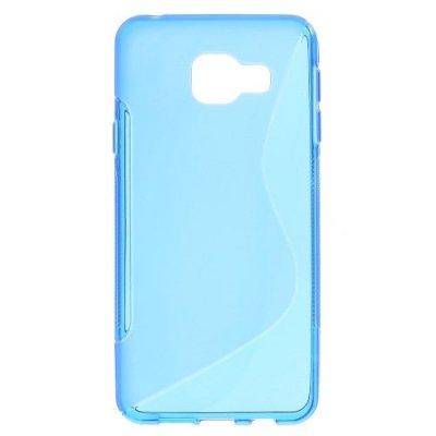 Flexibelt Skal S-Design till Samsung Galaxy A3 (2016) - Blå