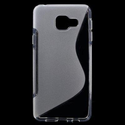 Flexibelt Skal S-Design till Samsung Galaxy A3 (2016) - Transparant