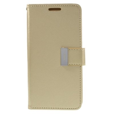 Plånboksfodral till Samsung Galaxy S7 - Rich Diary Gold