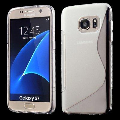 Flexibelt S-Design Skal till Samsung Galaxy S7 - Transparant