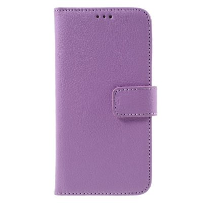 Mobilfodral Plånbok till Samsung Galaxy S7 - Lila litchi